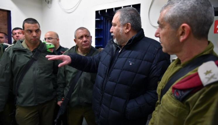 """ليبرمان: تأهيل قطاع غزة ورفع الحصار مشروط بنزع """"السلاح"""""""