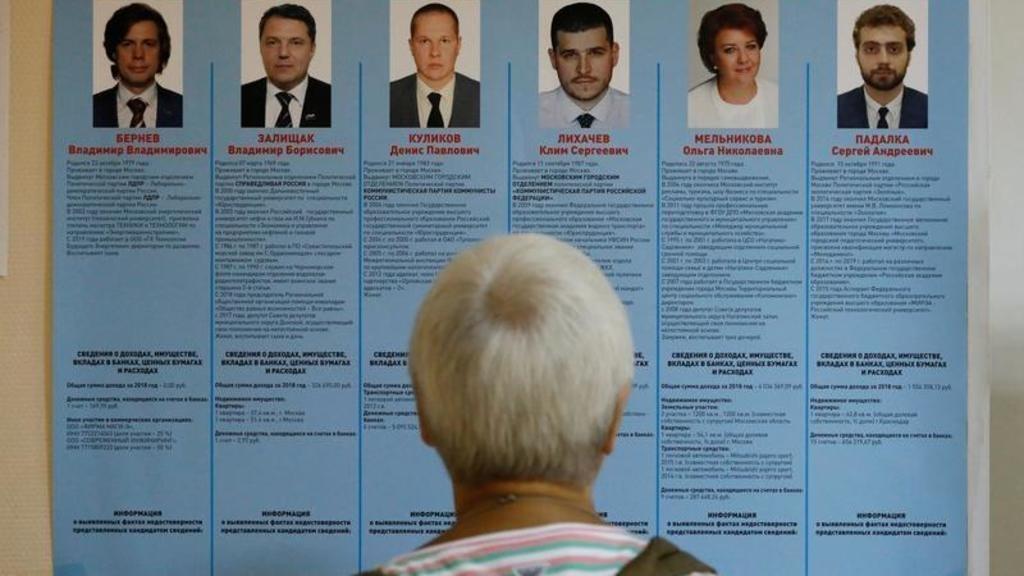 روسيا: مرشحو الحزب الحاكم يتكبدون خسائر كبيرة في انتخابات موسكو