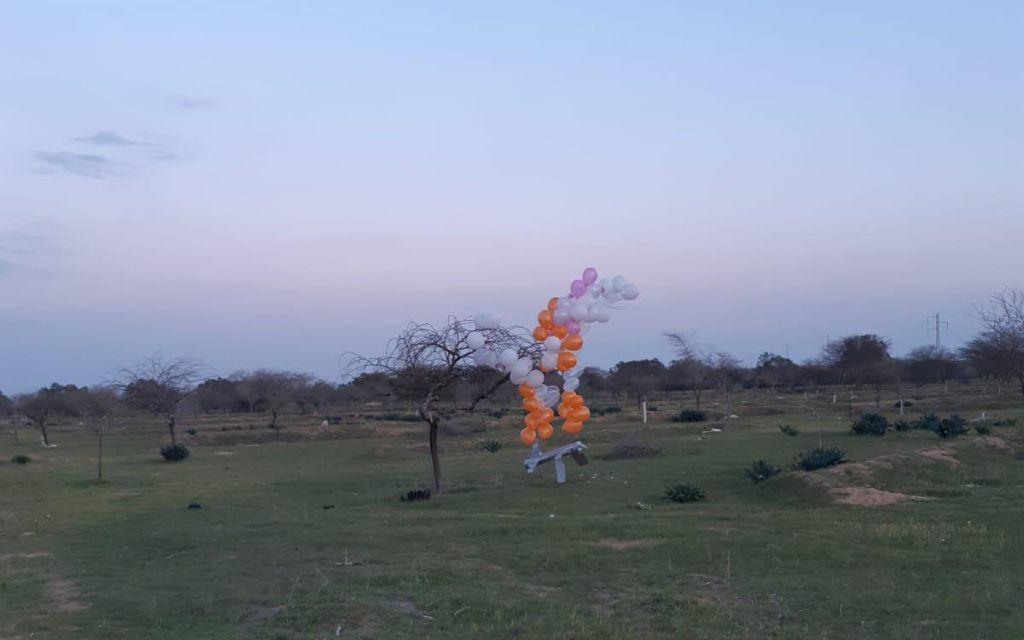"""موقع عبري: انفجار بالونات مفخخة فوق عسقلان وسقوط عدد منها في """"أحراش ران"""""""