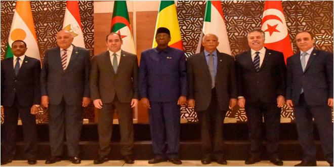 بعد انتهاء اجتماع الجزائر.. دول جوار ليبيا تتفق على رفض أي تدخلات خارجية فيها