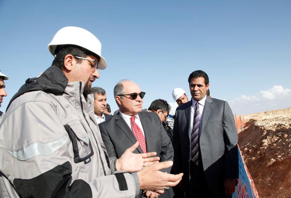 الملقي: مشروع العطارات للصخر الزيتي علامة فارقة بمسيرة التنمية في الاردن