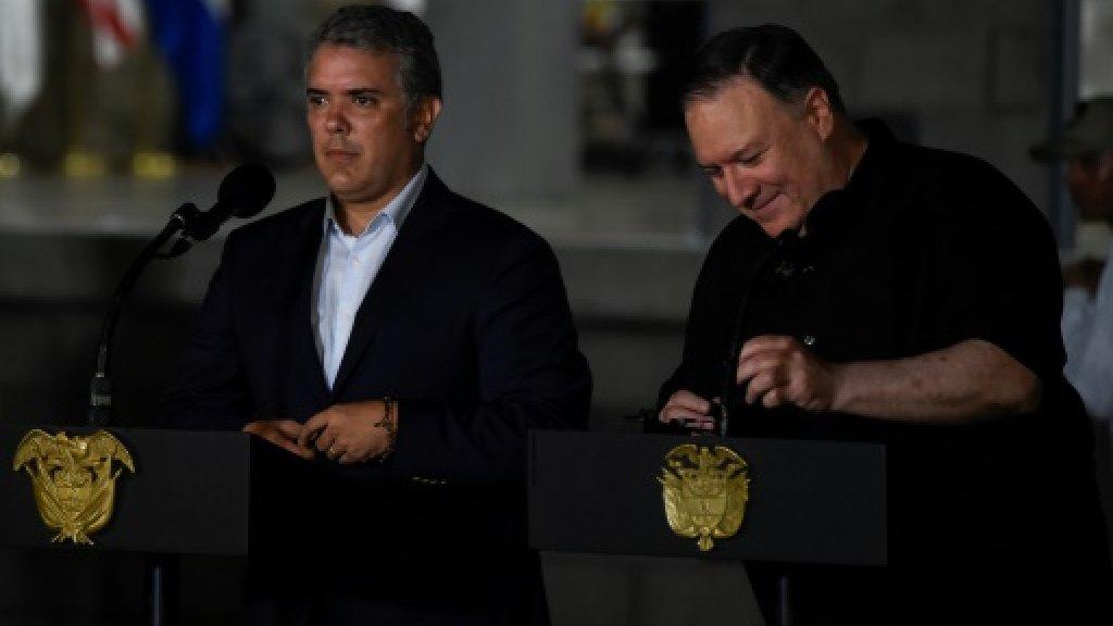 واشنطن تمنح كولومبيا مساعدة بـ(160) مليون دولار لتطبيق اتفاق السلام