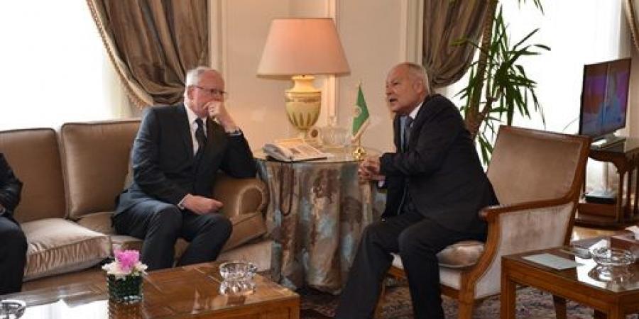 أبو الغيط يبحث مع الممثل الخاص الأمريكي أخر مستجدات الأزمة السورية