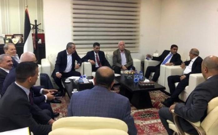 تفاصيل لقاء وفد المخابرات المصرية مع قيادات في حركة فتح برام الله