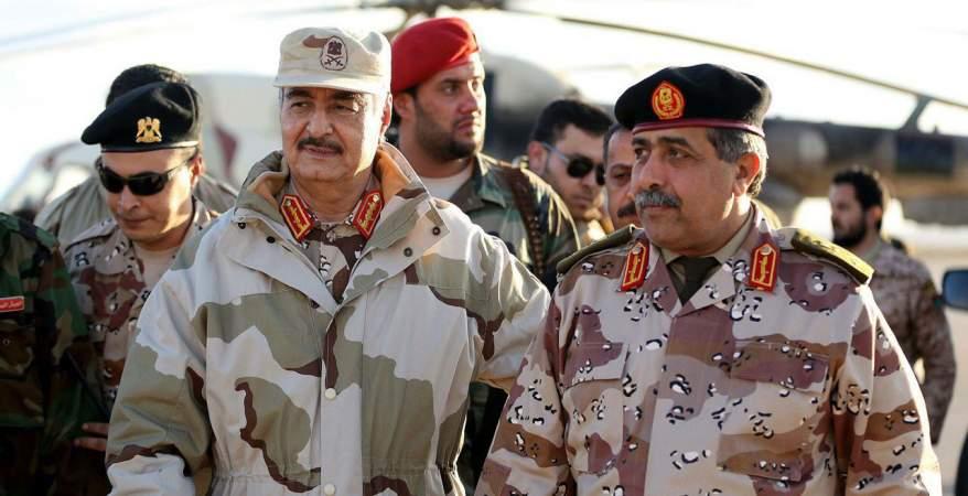 المشير حفتر يأمر بإستئناف التحقيق في اغتيال اللواء عبد الفتاح يونس
