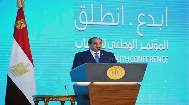 """الرئيس """"السيسي"""" يوجه رسالة قاسية للفضائيات والدول التي تزيف صورة مصر"""