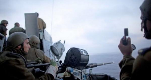 سفينة حربية إسرائيلية تخترق المياه الإقليمية اللبنانية