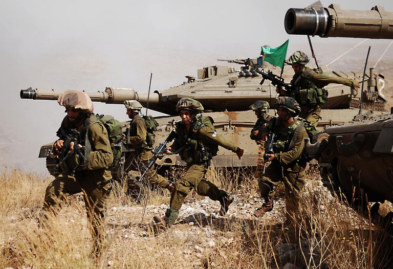 جيش الإحتلال الإسرائيلي يبدأ مناورات موسعة على الحدود مع غزة وسيناء