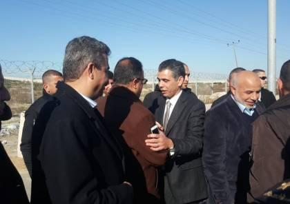 """الوفد الامني المصري يصل قطاع غزة عبر """"ايرز"""" وهذا ما سيبحثه"""