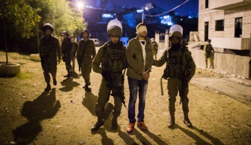 بالأسماء:جيش الإحتلال الإسرائيلي يشن حملة اعتقالات في مختلف محافظات الضفة الغربية