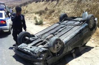 وفاة و 5 اصابات بحادثي تدهور وتصادم في مأدبا