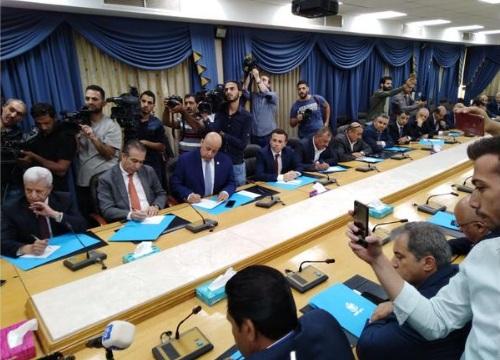 مجلس النواب يتعهد للنقباء برد قانون الضريبة في الدورة الاستثنائية