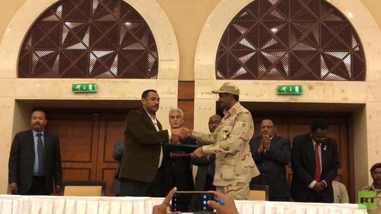 بنود الاتفاق السياسي للفترة الانتقالية في السودان