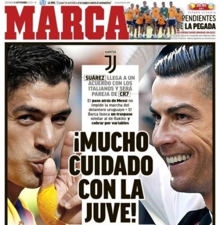 قرار سواريز وصفقة برشلونة في صدر الصحف الإسبانية