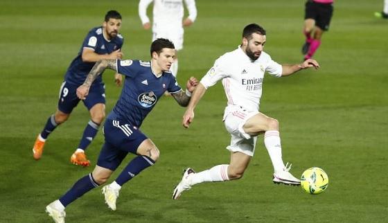 ريال مدريد يتخطى سيلتا فيجو ويعتلي صدارة الليجا