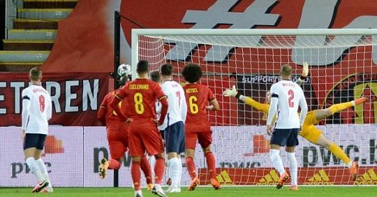 بلجيكا تحسم موقعة إنجلترا في دوري الأمم