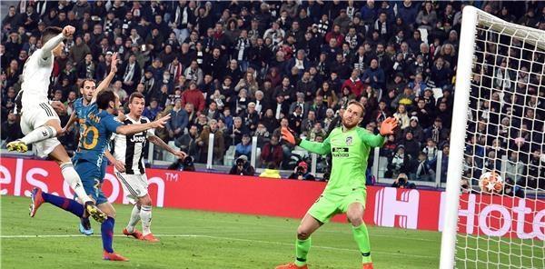 يوفنتوس يصعق أتلتيكو مدريد بسحر رونالدو