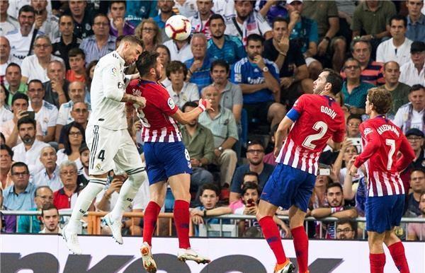الريال وأتلتيكو يخاصمان الشباك في ديربي مدريد