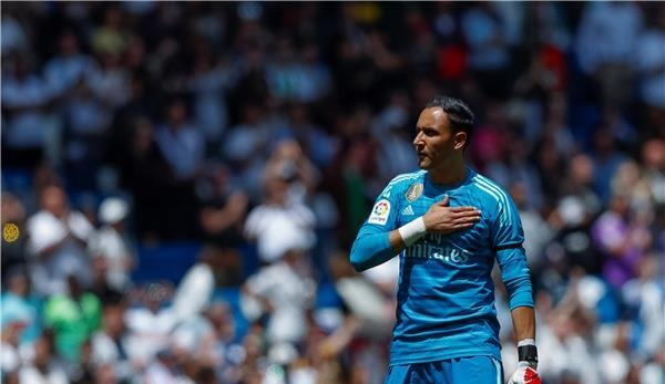 نافاس يستعد لمغادرة ريال مدريد