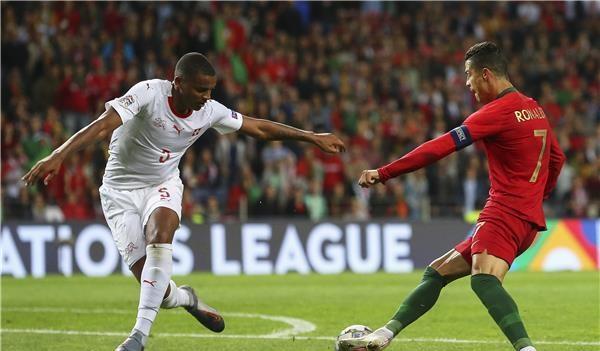 سوبر رونالدو يحمل البرتغال إلى نهائي دوري الأمم الأوروبية