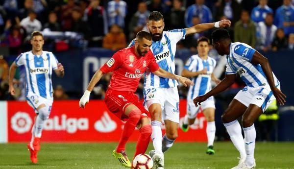 ريال مدريد يسقط في فخ ليجانيس بالليجا