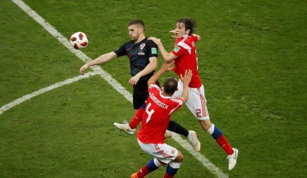 كرواتيا تنهي مغامرة روسيا بسيناريو دراماتيكي