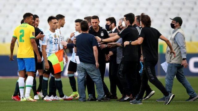 تعليق مباراة البرازيل والأرجنتين