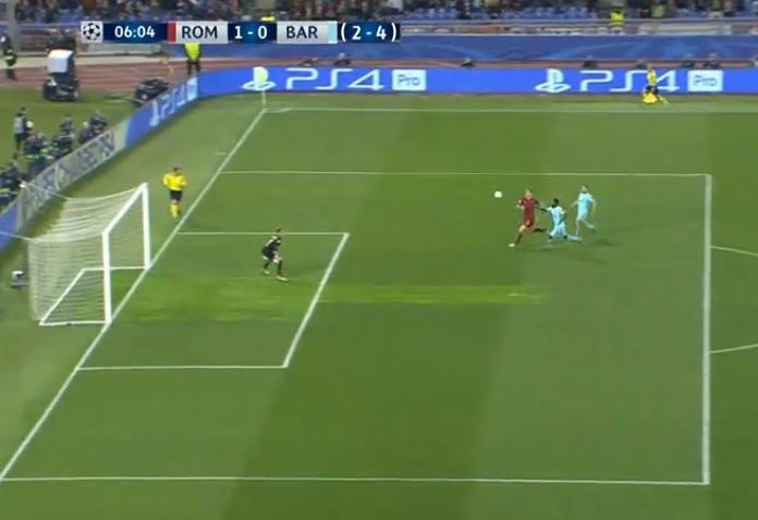 روما يصنع المعجزة ويقصي برشلونة من دوري أبطال أوروبا
