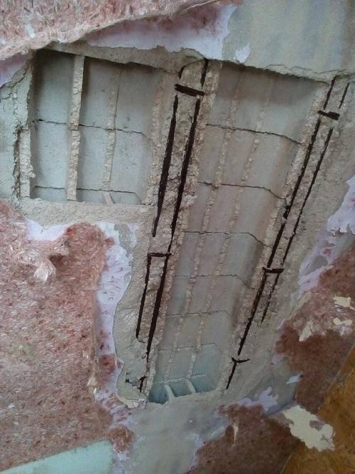 سقوط سقف منزل يهدد بتشرد أسرة بالأغوار ...