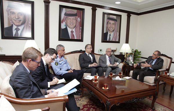 وزير الداخلية الأردني يلتقي مسؤولاً أممياً لمكافحة الارهاب