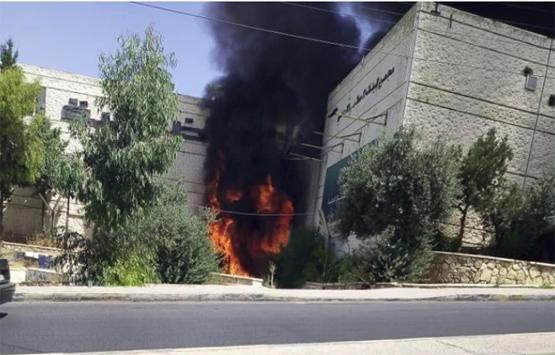 الحاج توفيق: مليون دينار حجم خسائر حريق سوق الروضة