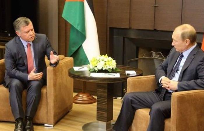 """جلالة الملك الأردني عبدالله الثاني: """"سأبحث مع بوتين تحقيق نتائج من العملية السياسية بسوريا."""