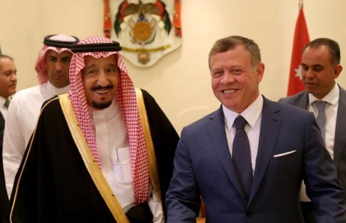 الملك يشكر خادم الحرمين