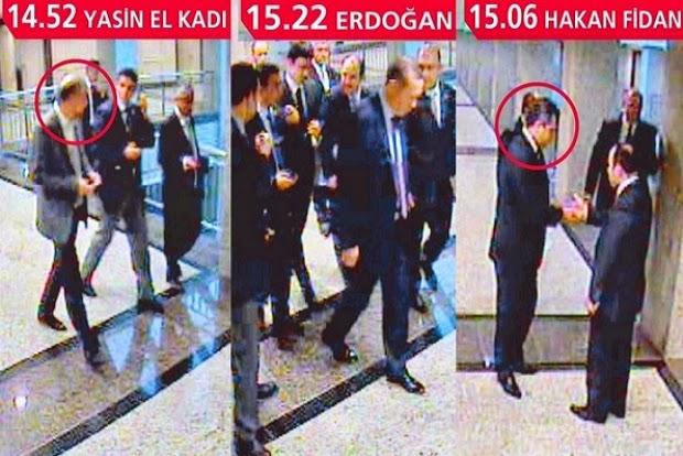 """وثائق تكشف اجتماعات سرية بين أردوغان وممول """"القاعدة"""""""