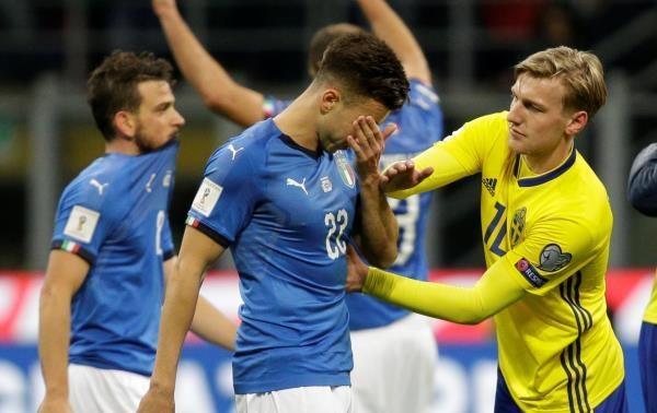 نكسة إيطالية كبرى.. الأزوري يتعادل مع السويد ويغيب عن المونديال