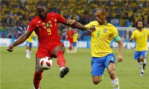 بلجيكا تسرق أحلام البرازيل وتبلغ المربع الذهبي