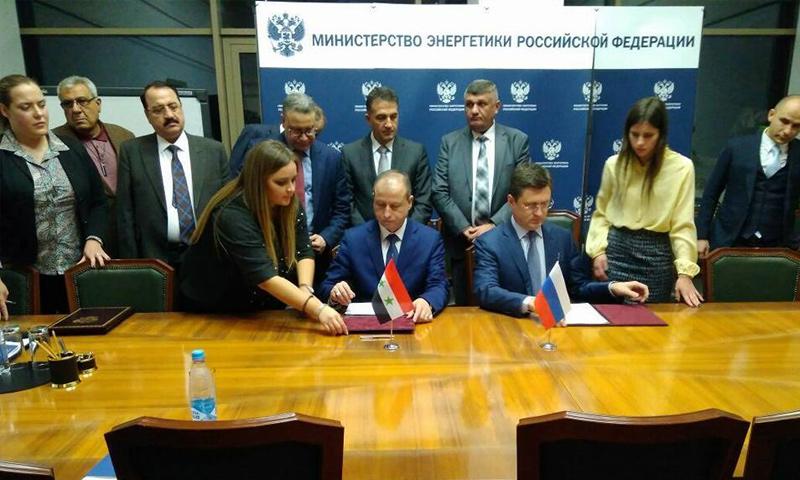وزير النفط الروسي: شركاتنا ستشارك بإعادة تأهيل حقول النفط في سوريا