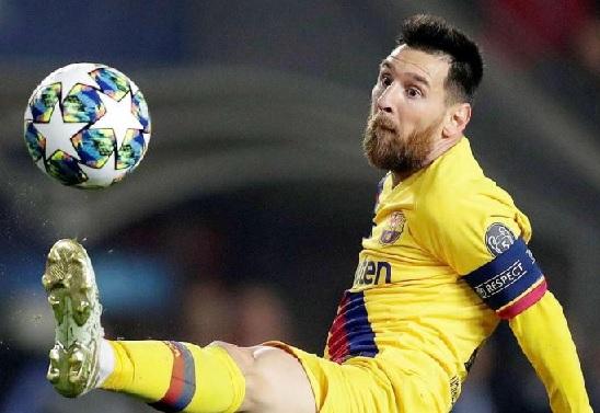 برشلونة يوضح حقيقة إصابة ميسي