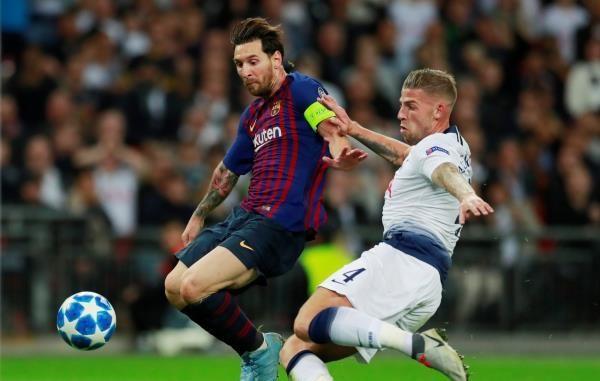 برشلونة يصعق توتنهام ويعبر الحاجز اللندني