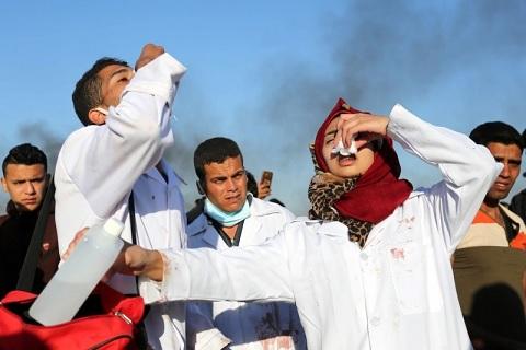 قتل المسعفة رزان النجار يعد جريمة حرب