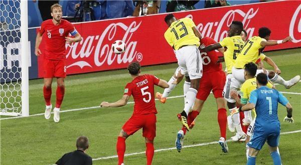 ركلات الترجيح تبتسم لأسود إنجلترا على حساب نمور كولومبيا