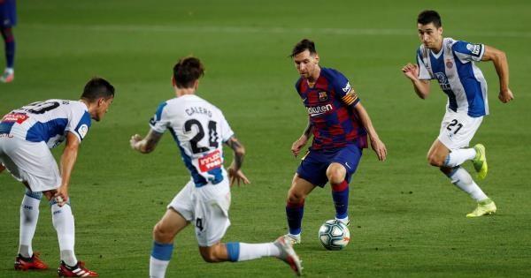 برشلونة يلاحق الريال ويبصم على هبوط إسبانيول