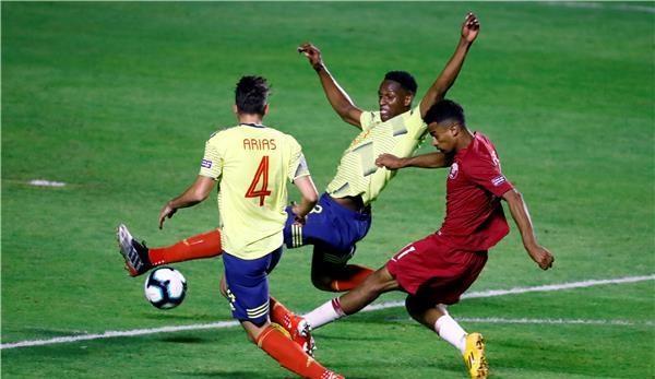 كولومبيا تعبر قطر بصعوبة وتحجز تذكرة التأهل في كوبا أمريكا