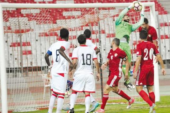 المنتخب الوطني يتعادل مع نظيره البحريني ودياً