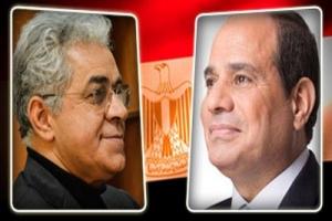سباق ثنائي بين السيسي وصباحي على رئاسة مصر بعد اغلاق باب الترشح