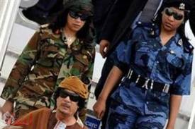 العثور على جثة حارسة القذافي مذبوحة