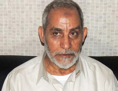 تجديد حبس مرشد الإخوان و36 آخرين بتهمة التحريض على العنف