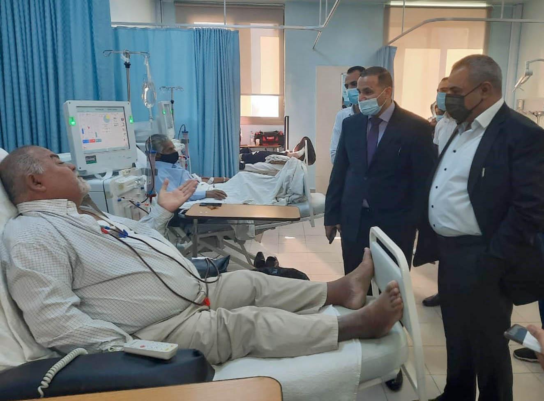 محافظ البلقاء: مستشفى السلط الجديد بحاجة لكوادر طبية وتمريضية