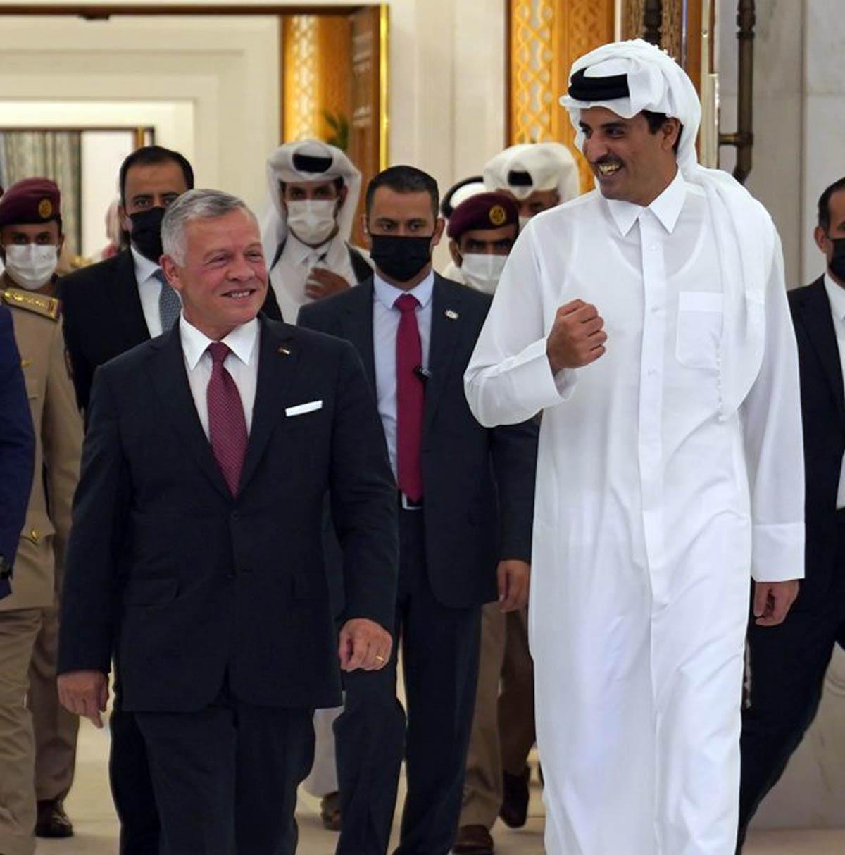جلالة الملك في ختام زيارته لقطر: نتطلع لمواصلة البناء على علاقاتنا الوثيقة
