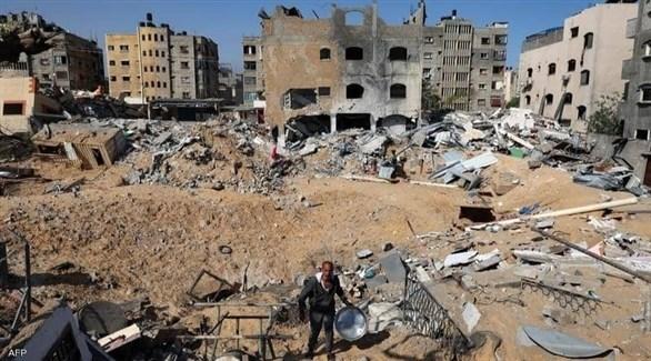 فريق هندسي مصري يصل غزة لبحث مشاريع إعادة الإعمار